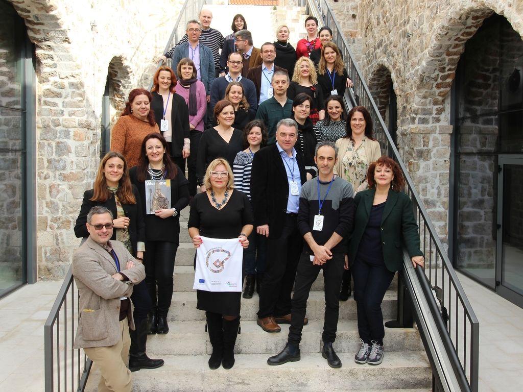 EX.PO AUS Project Partners in Lazareti