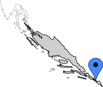 Dalmatia Map